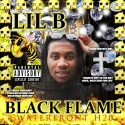 Lil B - Black Flame mixtape cover art