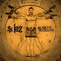 St. Laz - As Above So Below mixtape cover art