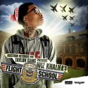Wiz Khalifa - Flight School mixtape cover art