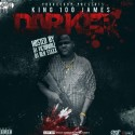 King100James - Darker mixtape cover art