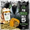 For Smokers Only 5 (Hosted By Snoop Dogg) mixtape cover art