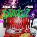 Nahvi Nice - Drugz & Bandanaz mixtape cover art