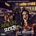Slim Lgn - Real Life Society mixtape cover art