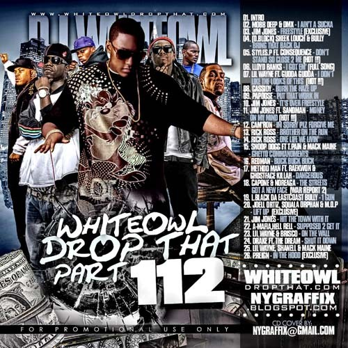 DJ Whiteowl - Drop That 112 Mixtape