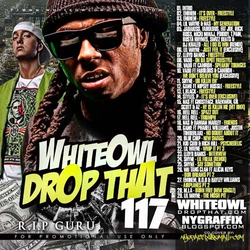 DJ White Owl - Drop That 117 Mixtape