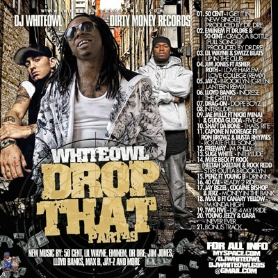 lil wayne 50 cent eminem. Album: Lil Wayne, 50 Cent, Eminem Presents: Tapes Top 20 Streets, Part 12