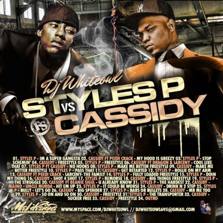 DJ White Owl › Styles P VS. Cassidy (Stream or Download FREE)