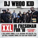 XXL 10 Freshman For '10 mixtape cover art
