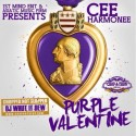 Cee Harmonee - Purple Valentine mixtape cover art
