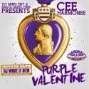 Cee Harmonee - Purple Valentine mixtape cover art