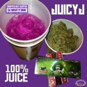 Juicy J - 100% Juice (Chopped Not Slopped) mixtape cover art