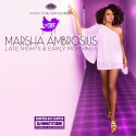 Marsha Ambrosius - Late Nights And Early Mornings (Chopped & Screwed) mixtape cover art