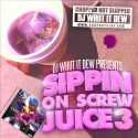 Sippin On Screw Juice 3 mixtape cover art