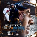 ST Spittin - Lighters & Ink Pens mixtape cover art