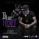 Chris West - Blac Heart mixtape cover art