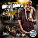 Lil Shown - Underdawg mixtape cover art