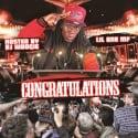 Lil One MF - Congratulations mixtape cover art
