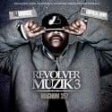 Magnum 357 - Revolver Muzik 3 mixtape cover art