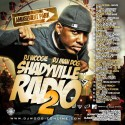 Shadyville Radio 2 mixtape cover art