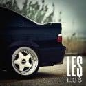 Le$ - E36 mixtape cover art