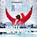 This White X-Mas mixtape cover art