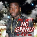 Say Hott - No Games mixtape cover art
