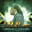 TJ The Gamewrecker - I'm Outta Dere 103 mixtape cover art