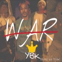 YBK - W.A.R. mixtape cover art