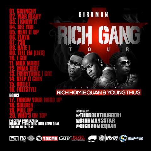 Various Artist - Rich Homie Cartel Vol 1 MP3 Music Download