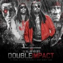 Dae Dae & Just Rich Gates - Double Impact mixtape cover art