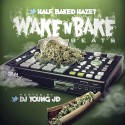 Half Baked Hazey - Wake N Bake Beats mixtape cover art