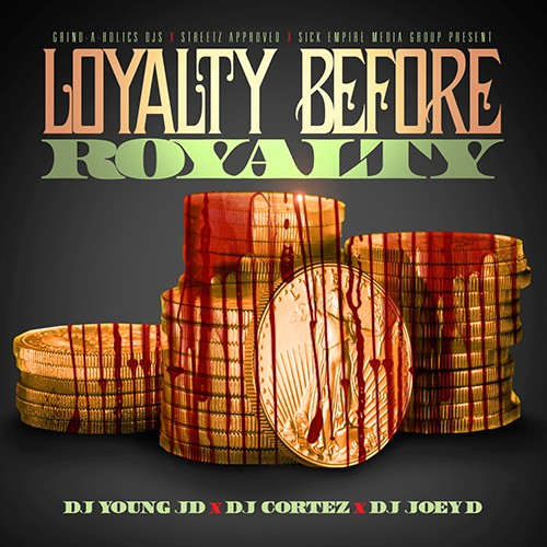 Royalty Over Loyalty Coloring Page: DJ Young JD, DJ Cortez, DJ Joey D
