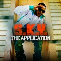 S.K.Y. - The Application mixtape cover art